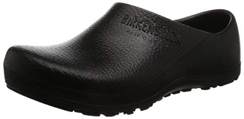 Birkenstock Womens Profi Birki Black Synthetic Shoes 37 EU