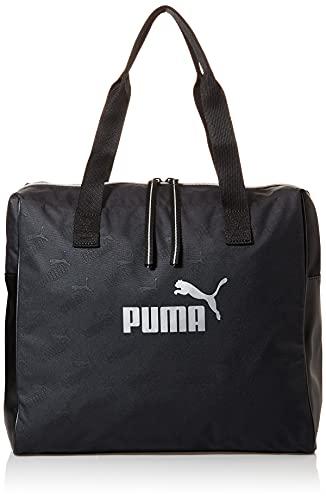 PUMA Wmn Core Up Large Shopper Borsa a tracolla Donna, Donna, Borsa sportiva, 77387, nero puma, taglia unica