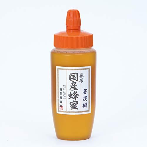 蜂蜜 専門店 藤原養蜂場 藤原国産蜂蜜 菩提樹 ポリ容器 500g
