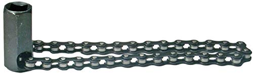 Kraftmann 1020 | Universal-Ölfilter-Kettenschlüssel | Antrieb Innenvierkant 12,5 mm (1/2 Zoll) | 100 mm