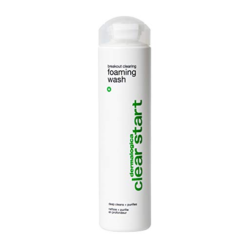 Dermalogica Breakout Clearing Foaming Wash (10 Fl Oz) Acne Face Wash with Salicylic Acid & Tea Tree Oil - Dive Into Pores to Clear, Soothe, & Energize