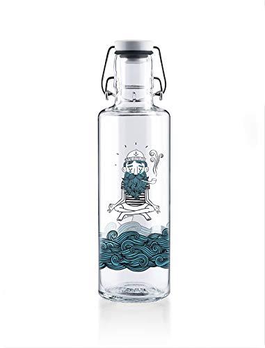 soulbottles 0,6l • soulsailor • Trinkflasche aus Glas • plastikfrei, nachhaltig, vegan