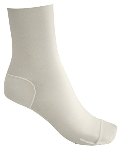 ArmaSkin Extreme Anti-Blister Hiking Crew Socks for Men and Women (Medium, White)