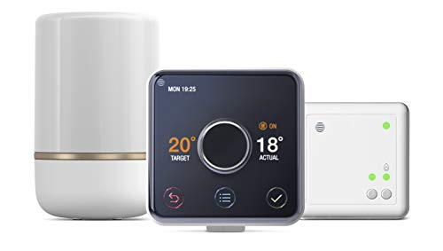 Hive UK7004905 Premium Heat Smart Thermostat, Weiß
