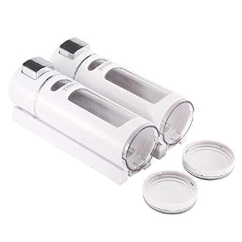 JUNYYANG 800 ml dispensador de jabón for Montaje en Pared Jabón Líquido Transparente de plástico dispensador dispensador de jabón y de la Botella por Cocina Baño