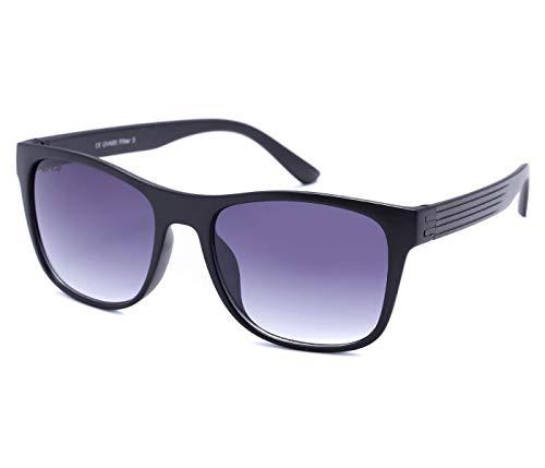 Alsino Lunettes de soleil Hipster légères avec protection UV 400 Viper Eyewear Collection dans différents modèles Homme Femme Unisexe, bleu
