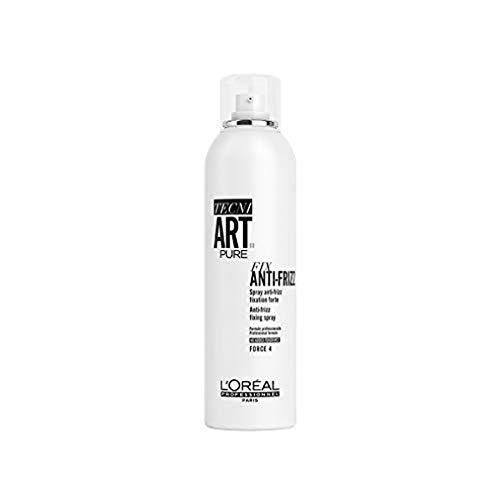 LOREAL PROFESSIONNEL_Tecni Art Pure Fix Anti-Frizz Fixing Spray utrwalaj¹cy lakier do w³osów Force 4 400ml