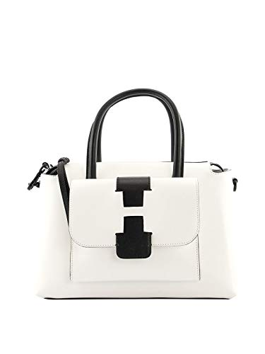 Hogan Luxury Fashion Donna KBW01BF0200J607A35 Bianco Pelle Borsa A Mano | Primavera-estate 20