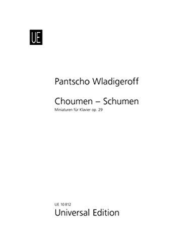 WLADIGEROFF P. - Choumen Schumen Op.29 (6 Bulgarian Miniatures) para Piano