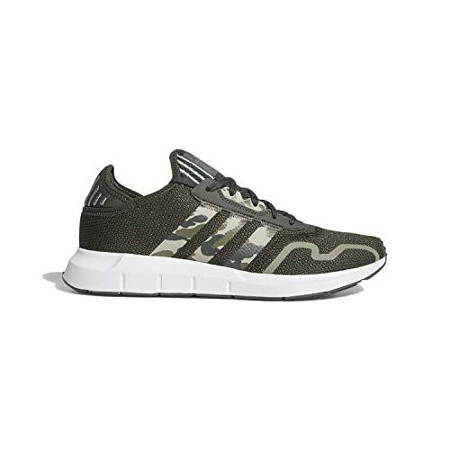 adidas Originals Swift Essential - Zapatillas deportivas para hombre, Verde (Verde Legado/Tierra/Gris), 41 EU