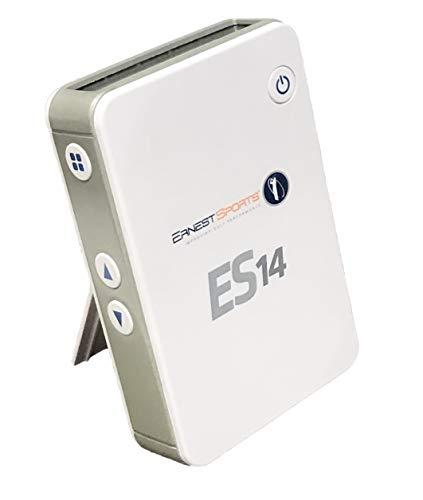 Ernest Sports ES14 Pro Portable Launch Monitor, White (ES14 - White)