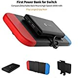 Portable Power Bank for Nintendo Switch - 10000mAh Rechargeable Extended Battery Charger Case - Compact Travel Backup Battery Pack for Nintendo Switch by Emperor of Gadgets