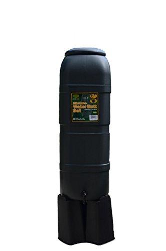 Bosmere K750 Slim Rain Barrel with Stand, 26-Gallon