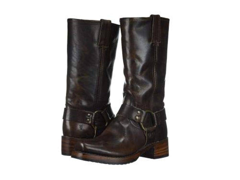 摩擦郡薬局Frye(フライ) レディース 女性用 シューズ 靴 ブーツ ライダーブーツ Heirloom Harness Tall - Espresso [並行輸入品]