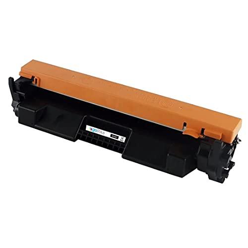 1 Go Inks Cartucho de tóner láser Negro para reemplazar HP CF217A (17A) Compatible/Non-OEM para HP Laserjet Pro Impresoras