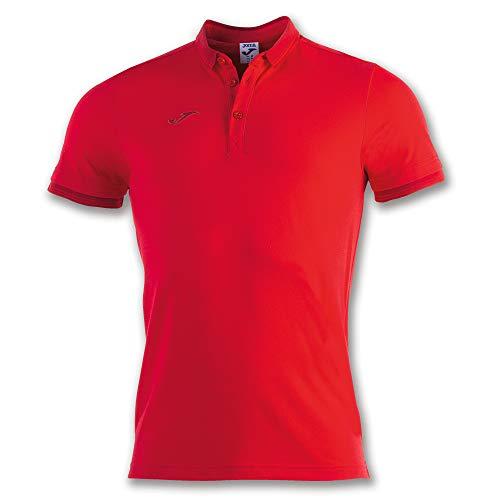 Joma Bali II Polo, Hombre, Rojo, L
