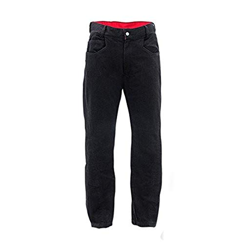 Bull-it SR6 Sidewinder Covec Herren Verstärkte Jeans (Schwarz, 36L x 34W)
