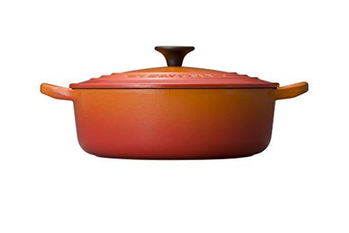 ルクルーゼココットジャポネーズホーロー鍋IH対応24cmオレンジ25052-24-09
