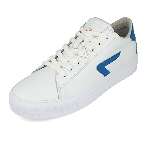HUB FOOTWEAR - HOOK Z -STICH L31 - white fresh blue