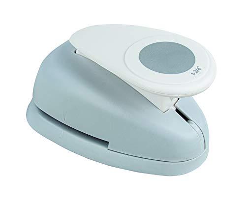 Rayher Hobby 8960500 Motivstanzer Rund/Kreis, ø 4,45 cm- 1 3/4 Zoll, geeignet für Papier/Karton bis zu 200g/m²