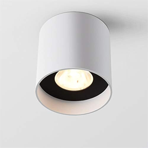 Luz de techo LED, Downlight de mazorca blanca, lámpara redonda de 110V - 240V, foco de superficie montada en superficie, accesorio de iluminación anti resplandor RA85, manchas de iluminación de acento