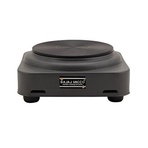 BAJAJ VACCO Electric Tawa Hot Plate 1000 Watt PC W/O REG (Black)