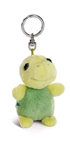 Nici 44765 LED-Plüsch-Schlüssellicht Schildkröte Slippy 9cm, grün