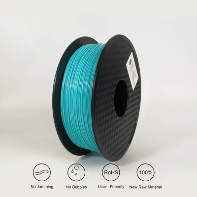 Love lamp 3D Printing Filament TPU Flexible Filament TPU Filament Plastic For3D Printer 1.75mm Printing Materials Black 1kg 3D Pen Filament Refills (Color : Sky Bule)