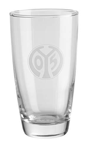 Mainz 05 Trinkglas Logo
