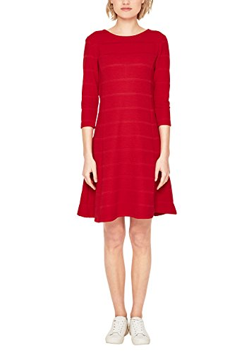 s.Oliver Damen 14.802.82.7666 Kleid, Rot (Tango Red 3353), 40