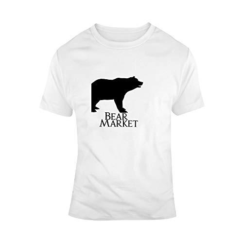 Bull beer markt T-shirt portemonnee T-shirts beursmakler dag heren T-shirt