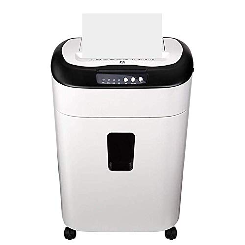 Buy Bargain HIZLJJ 80-Sheet High-Security Micro-Cut Paper and Credit Card Shredder with 19L Pullout ...