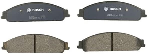 Bosch BC1070 QuietCast Premium Ceramic Disc Brake Pad Set For Ford: 2005-07 Five Hundred, 2005-07 Freestyle, 2008-09 Taurus, 2008-09 Taurus X; Mercury: 2005-07 Montego, 2008-09 Sable; Front