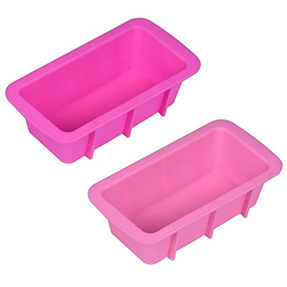 ? Yu2d ???? ?Silicone Bread Loaf Cake Mold Non Stick Bakeware Baking Pan Oven Rectangle Mould