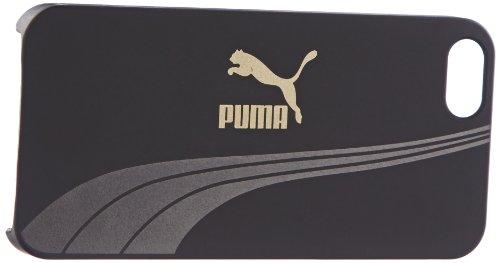 PUMA Schutzhülle Bytes Phone Hülle, Black-Metallic Finish, One size, 052493 01, für iPhone 5