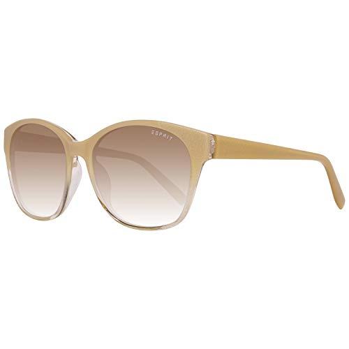 ESPRIT ET17872 55565 Sonnenbrille ET17872 565 55 Schmetterling Sonnenbrille 49, Cream