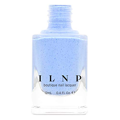ILNP Bluebird - Perano Blue Speckled Nail Polish, Chip Resistant, 7-Free, Non-Toxic, Vegan, Cruelty Free, 12ml