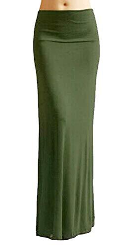Lente zomer dames rok lang elegant maxirok strak rekbaar zomer modieuze jurk effen tuniek vintage young mode zomerjurk