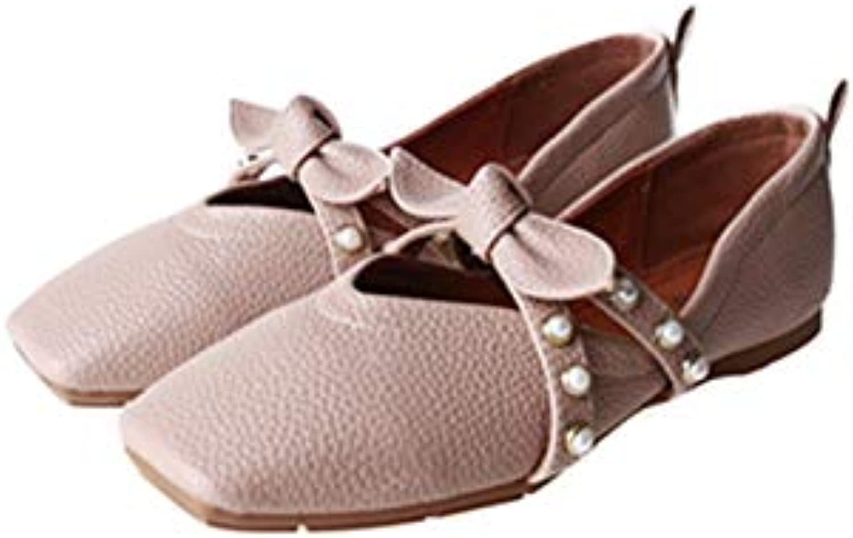 Meimeioo Women Bowknot Ballet Flats Slip On Casual Ballerinas Flats Pumps shoes