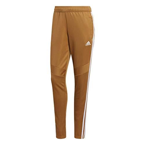adidas Tiro 19 - Pantaloni da Allenamento da Donna, Donna, Pantaloni, FYF12, Mesa/Bianco, XS