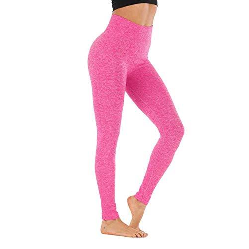 Polainas de control de barriga para mujer, pantalones de cintura alta, mallas de entrenamiento de desgaste activo para mujer, pantalones de yoga push up sin costuras para fitness