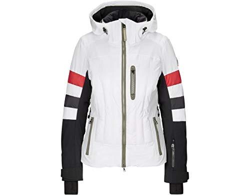Bogner Sport Ladies Malou-T Weiß, Damen Regenjacke, Größe 36 - Farbe Offwhite