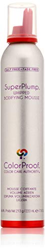ColorProof SuperPlump Whipped Bodifying Mousse, 7.5 Oz - Color-Safe, Volume, Vegan, Sulfate-Free, Salt-Free, Unisex - Professional Hair Product