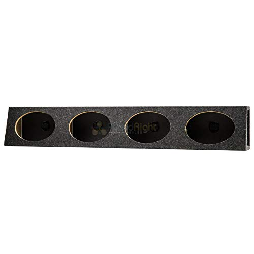 "6x9"" 4 Four Hole Speaker Box Enclosure High Quality MDF and Carpet Construction"