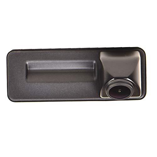 Fahrzeugspezifische Einparkhilfe Kamera integriert in Kofferraum Griff ,CCD Nachtsicht Rückfahrkamera für Skoda Octavia A5 FL Audi A1 Skoda Fabia Y6 Yeti VW Golf 5 V Roomster Rapid 2010-2014