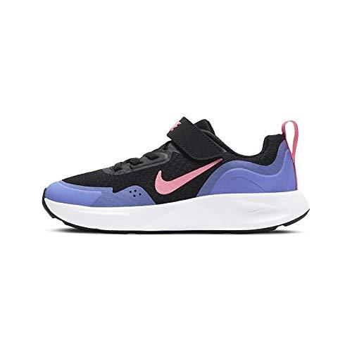 Nike Wearalladay sneaker nero da Bambino CJ3817-009