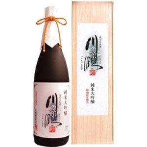 川鶴酒造『純米大吟醸 木箱入り』