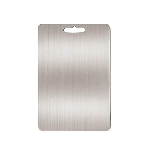 Snijplank, Non-slip 304 Supplement RVS Babyvoeding verdikking Household Planken Keuken Duurzaam A chopping board (Size : 330 * 450mm)