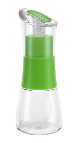 Zyliss Ölzerstäuber mit verstopfungsfreiem Filter, Höhe: 16,5 cm Essig Öl, Tritan, Nylon, POM, ABS, Green, 6,5 x 6,5 x