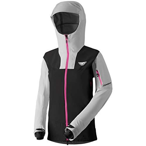 DYNAFIT W Yotei Gore-Tex Jacket Colorblock-Grau-Schwarz, Damen Gore-Tex Jacke, Größe 38 - Farbe Nimbus